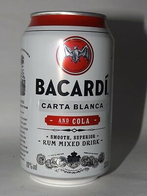 Bacardi and Cola Carta Blanca Dose 0,33 Neu Voll 10% vol