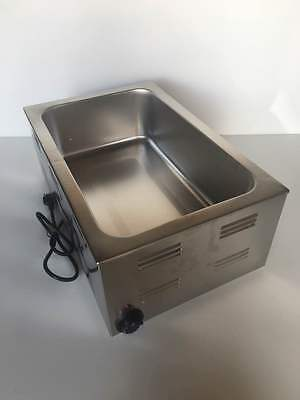 Tabletop Food Warmer Steam Table Soup Wamer Etl Listed