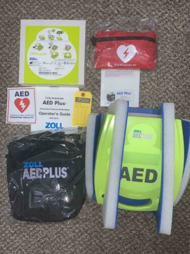 Zoll AED Plus Defibrillator Complete Brand NEW!