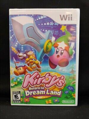 Kirby''s Return to Dream Land WII New Nintendo Wii  brand new sealed