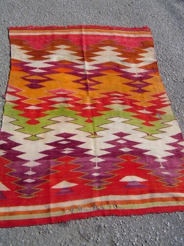 Antique Native American eye dazzler weaving