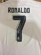 Cristiano Ronaldo Signed Jersey Real Madrid Moorabbin Kingston Area Preview