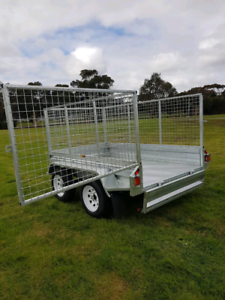 8x5 Tandem Heavy Duty Galvanised