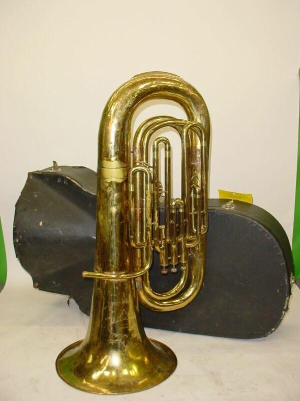 Amati Kraslice 3/4 BBb 3-Valve Tuba - Previously Owned
