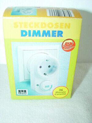 elektrischer Steckdosendimmer SHG mit Kindersicherung  siehe Foto!