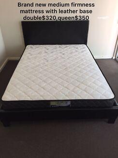 BRAND NEW mattress medium firmness single$100double$150queen$170