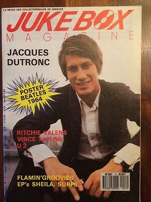 ( RARE FRENCH MAGAZINE JUKEBOX MAGAZINE JACQUES DUTRONC)