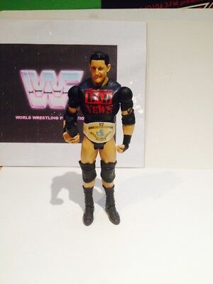 Wwe  Bad News Barrett  Action Figure With Microphone And Free Custom Belt