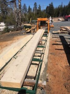 Beems and boards live edge