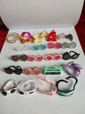 Dress Up Shops (Littlest Pet Shop Dress Up 6 Pcs Lot GLASSES Eye Mask Tire Bowl Tie Accessories)