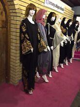Abayas, hijabs, islamic clothing etc
