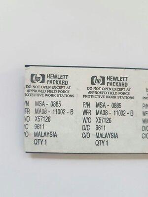 Msa-0885 Cascadable Silicon Bipolar Mmic Amplifier