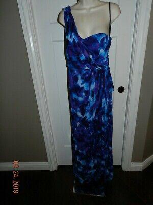 XSCAPE by Joanna Chen Blue/Purple Dress Long Prom Party Size size