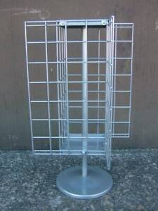 Chrome counter display spinning stand holder rack (New) RRP $90