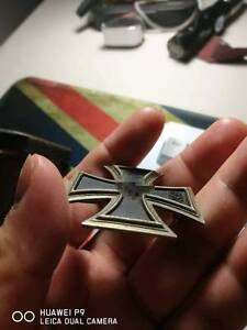THE THIRD REICH FIRST CLASS IRON CROSS WITH ORIGINAL CASE Strathfield Strathfield Area Preview
