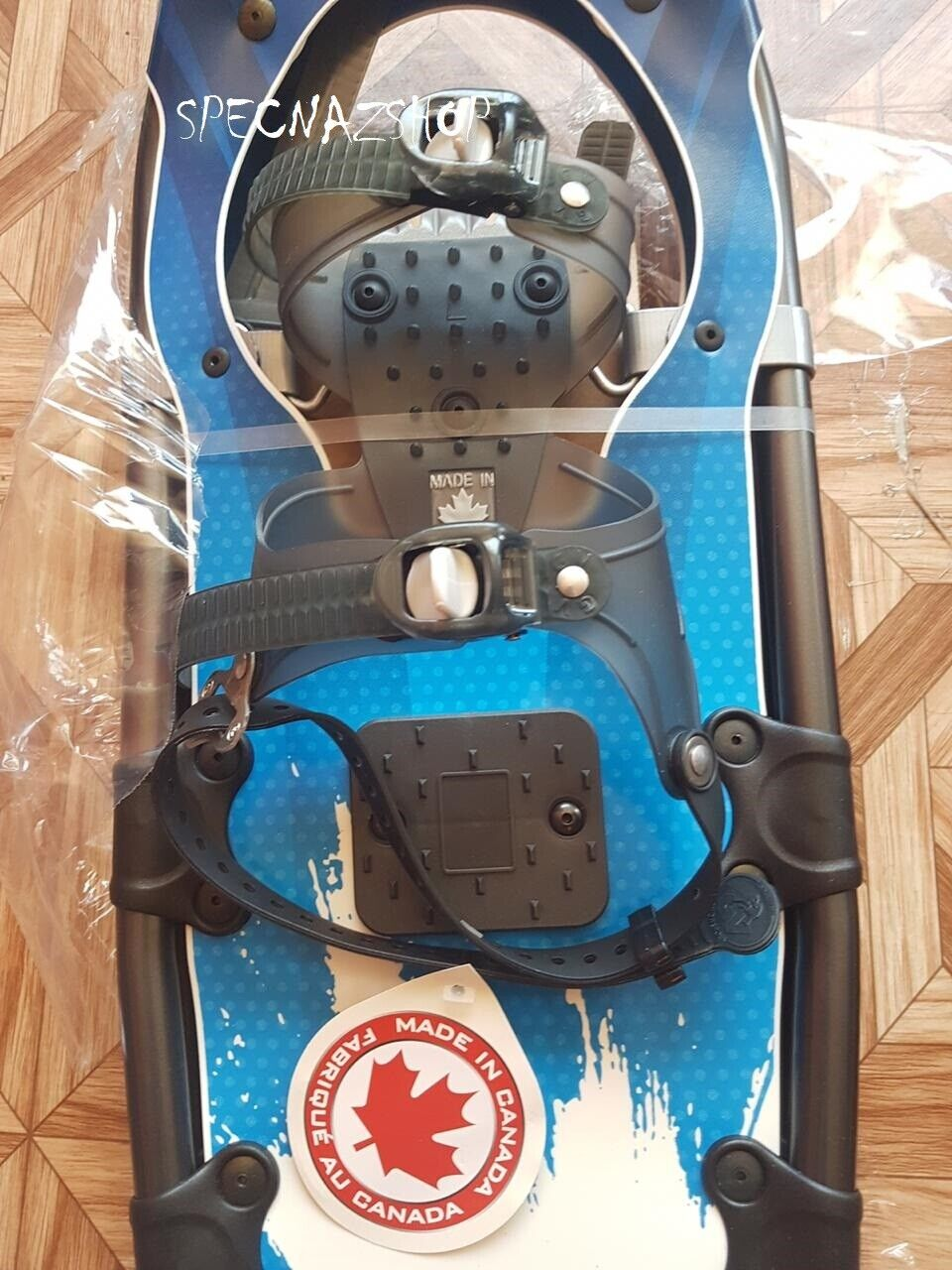 "как выглядит Canadian Snowshoes GV Winter Trail 10x36"" Blue with Entech - Brand New фото"