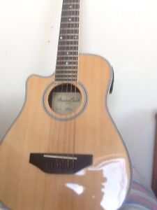 Beaver creek left hand acoustic electric guitar - youth size