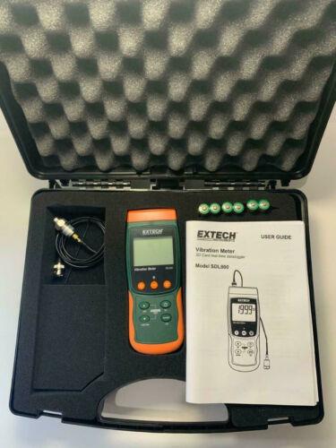 Extech SDL800 Datalogger Vibration Meter NEW!