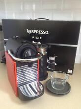 NESPRESSO by Breville Pixie & Milk: Red Millfield Cessnock Area Preview