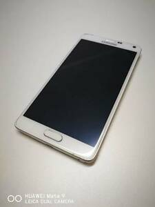 NEAR NEW Samsung Galaxy Note 4, white, 32GB Beenleigh Logan Area Preview