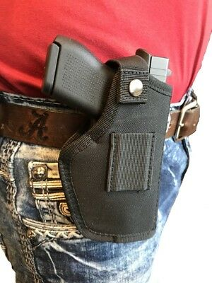 THE ULTIMATE OWB HIP BELT GUN HOLSTER FOR SCCY CPX-1 9mm IND 380 ()