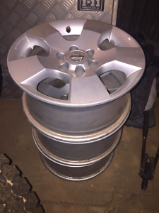 Nissan Navara D40 Tyres and Rims Snowtown Wakefield Area Preview