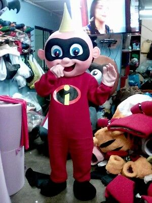 Jack Jack Baby The Incredibles Maskottchen Kostüm Halloween Geburtstagsparty