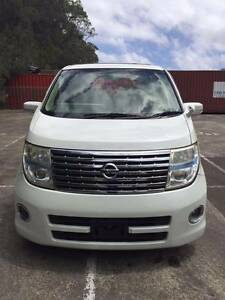2007 Series II Model Nissan Elgrand E51 Highway Star 3500 CC petr Ryde Ryde Area Preview