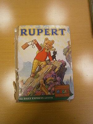 The Rupert Annual Book - 1964 Daily Express Original