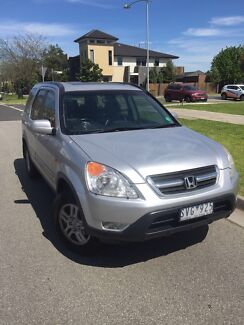 2004 Honda CR-V luxury low kms Rwc rego Dandenong Greater Dandenong Preview