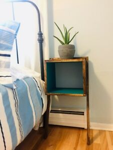 New Mid Modern Wall Balanced Bedside Tables