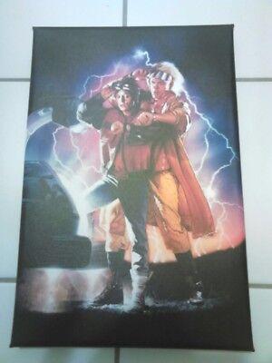 ft Leinwanddruck 30 x 20 cm Marty MCFly Doc Brown (Doc Brown Zurück In Die Zukunft)