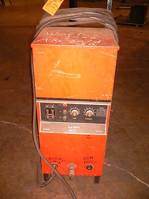Image Ua-500 Stud Welder Power Source With Stud Gun 12 Cables