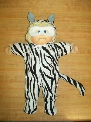 WHITE TIGER CAT HALLOWEEN COSTUME W/ MASK for 16-17