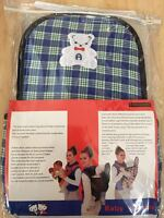 Checked Cotton Infant Baby Adjustable Wrap Sling Front Back Carrier 4 Position - unbranded - ebay.co.uk