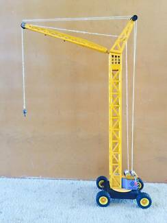 Vintage Toy Tower Crane Wavell Heights Brisbane North East Preview