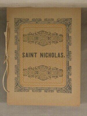 A VISIT FROM ST. NICHOLAS by Clement C. Moore, Facsimile of 1849 Edition St.