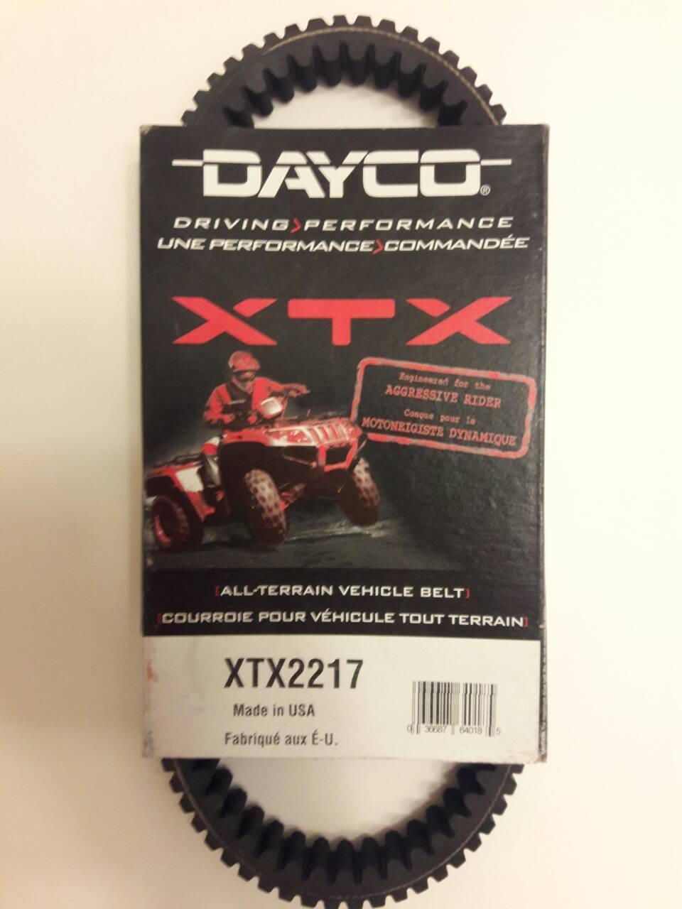 Dayco - XTX2217 - XTX Xtreme Torque ATV Belt, 59011-0003, 59011-0019