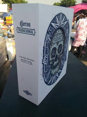 Jose Cuervo Tequila Box 2016 Day of the Dead Tradicional VERY VERY RARE!