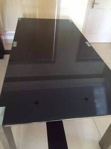 Glass Dining Table (210cm Lengh) Ashcroft Liverpool Area Preview