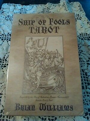 Ship Of Fools Tarot Cards Deck & Book Set New & Sealed Williams Divination Pagan