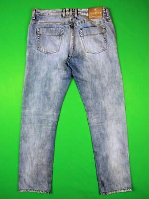 GUCCI Faded Vintage Denim Blue Jeans Mens 48 / M Made in Italy Regular Fit