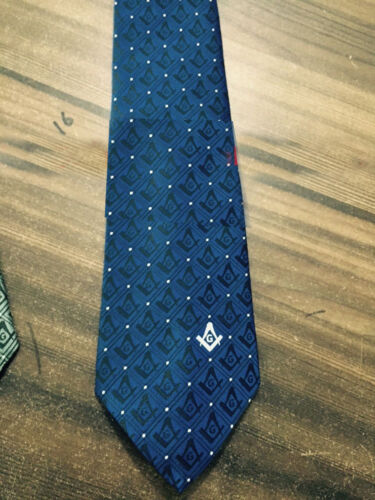 Masonic Square & Compass Ties, Freemason Ties, Blue Master Mason Ties