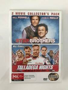The Will Ferrell Collection DVDs includes 5 movies