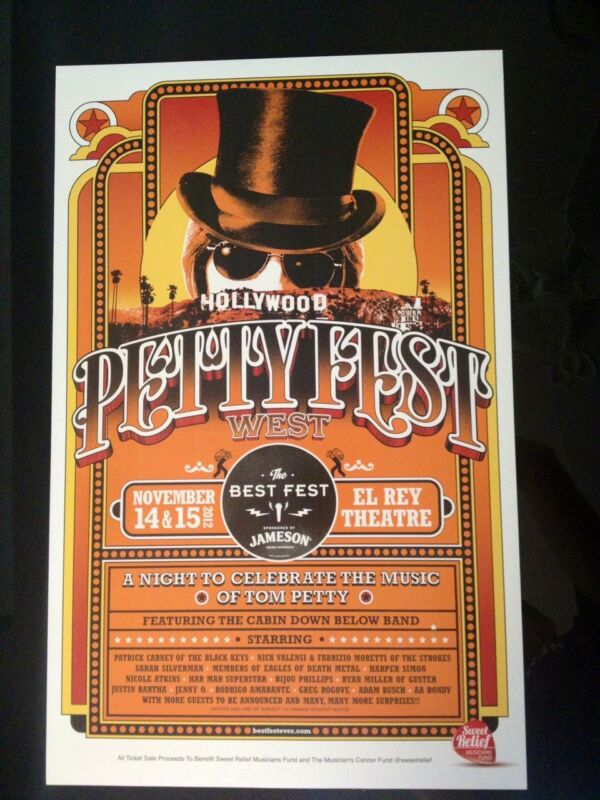 Petty Fest West Limited Edition Poster