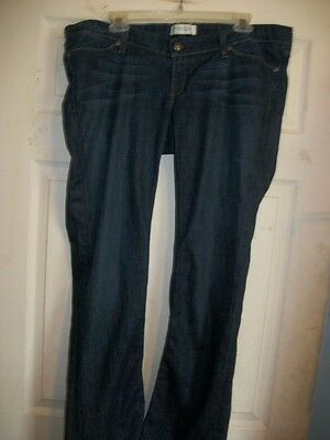 Habitual Ease Please Boot Cut Womens Denim Jeans Size 3 Inseam 32