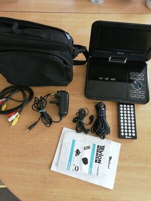 """Tevion 7"""" Portable Dvd Player With Swivel Screen & Carry Case for sale  Shipping to South Africa"""