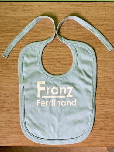 Franz Ferdinand Baby Bib