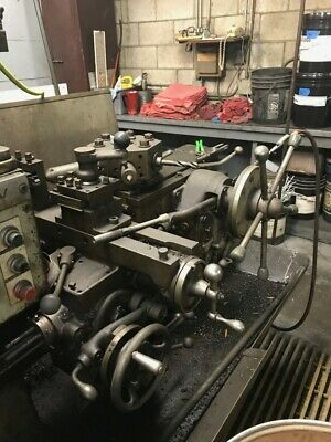 Warner Swasey M-2200 Turret Lathe 10 Hp 1-12 Spindle Hole