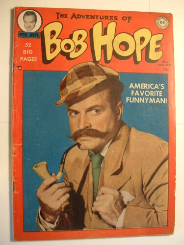 The Adventures of Bob Hope #4 - DC 1950 - America's Funnyman - 70 years ago …
